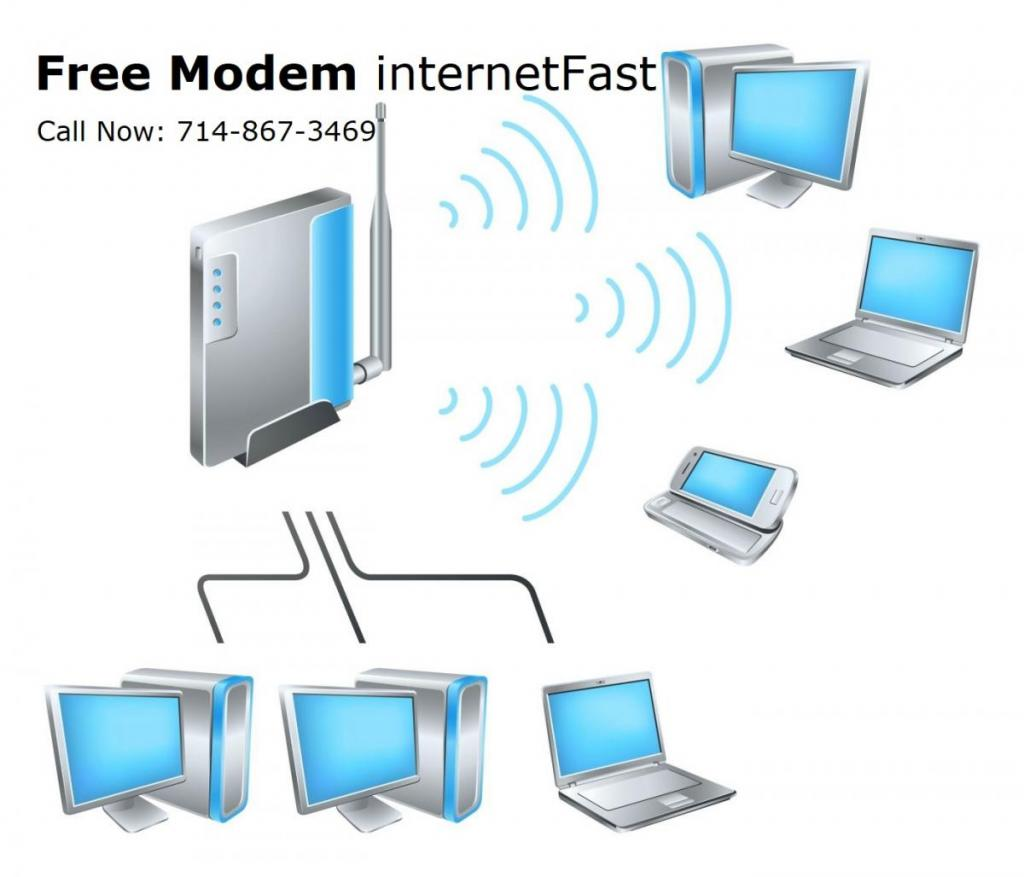 Free Modem internet Fast